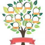 50+ Free Family Tree Templates (Word, Excel, Pdf) ᐅ Template Lab   Family Tree Maker Free Printable