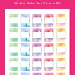 5Ml Rollerball Labels Blank   Printable 10Ml Essential Oil Labels - Free Printable Roller Bottle Labels