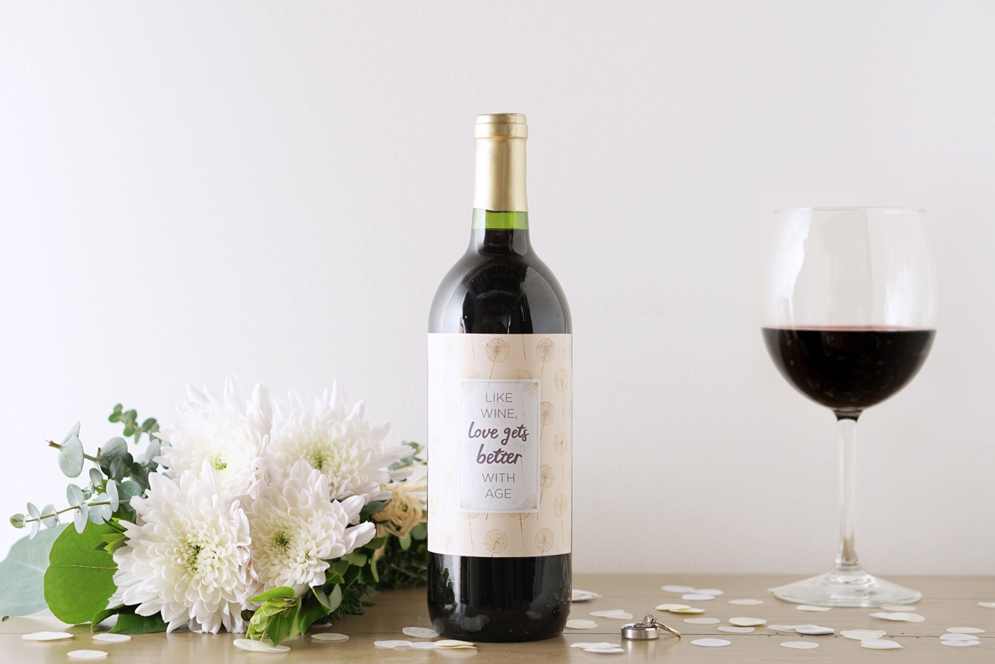 6 Printable Wine Bottle Labels For Special Occasions - Ftd - Free Printable Wine Labels For Birthday