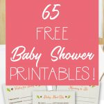 65 Free Baby Shower Printables For An Adorable Party   Free Printable Baby Shower Photo Booth Props