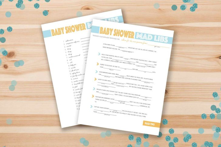 Free Printable Baby Shower Games For Twins