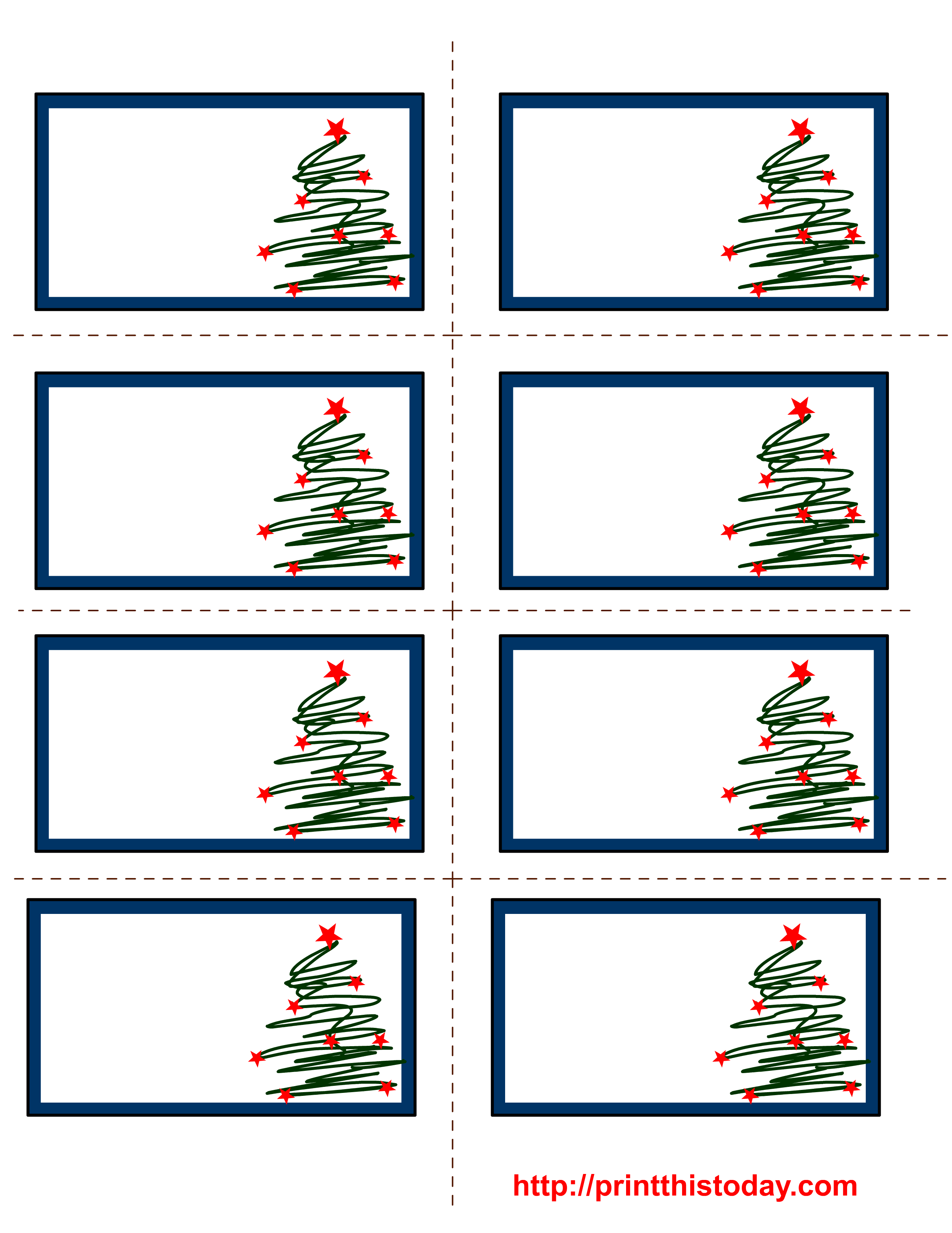 7 Images Of Free Printable Christmas Labels | Unit: Christmas - Christmas Labels Free Printable Templates
