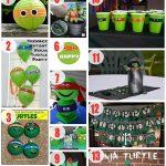 75+ Diy Teenage Mutant Ninja Turtles Birthday Party Ideas – About   Free Printable Ninja Turtle Birthday Banner
