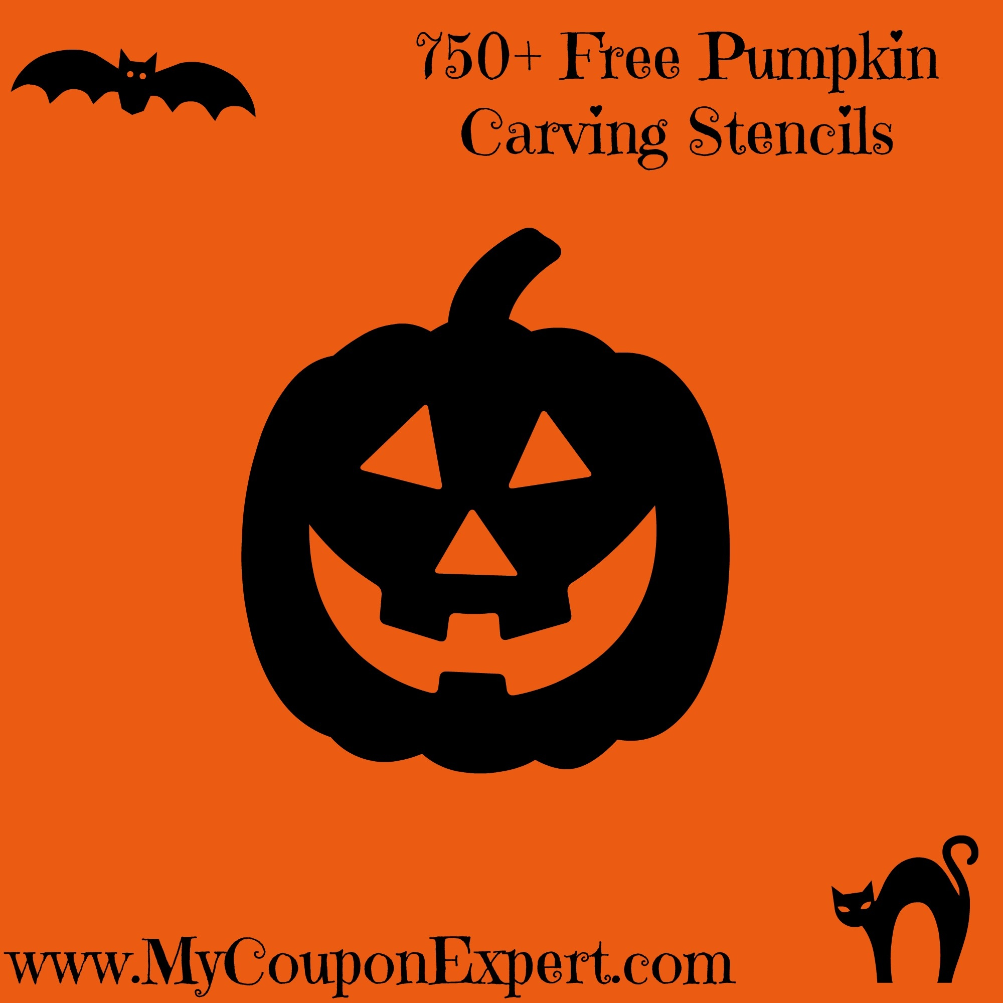750+ Free Pumpkin Carving Stencils · - Free Printable Pumpkin Carving Stencils