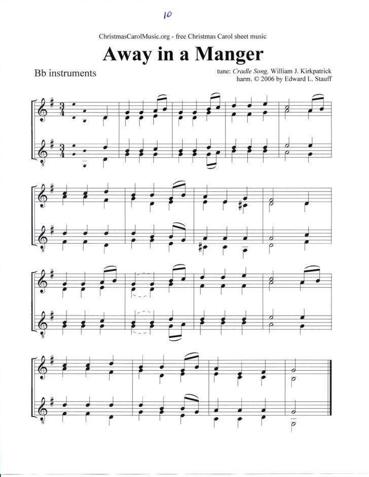 Free Printable Christmas Music Sheets Piano