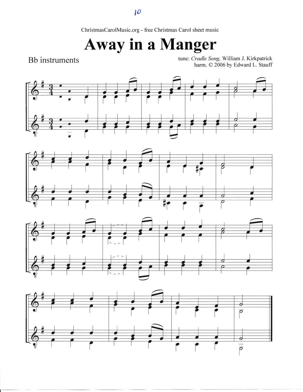 A Christmas Eve Songbook - Sheet Music Free Printable For 45 Beloved - Free Printable Christmas Music Sheets Piano