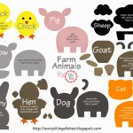 A Little Bit Of Everything : Free Printable Farm Animal Template   Free Printable Farm Animals