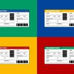 Airline Ticket   Boarding Pass Vector   Download Free Vector Art   Free Printable Boarding Pass