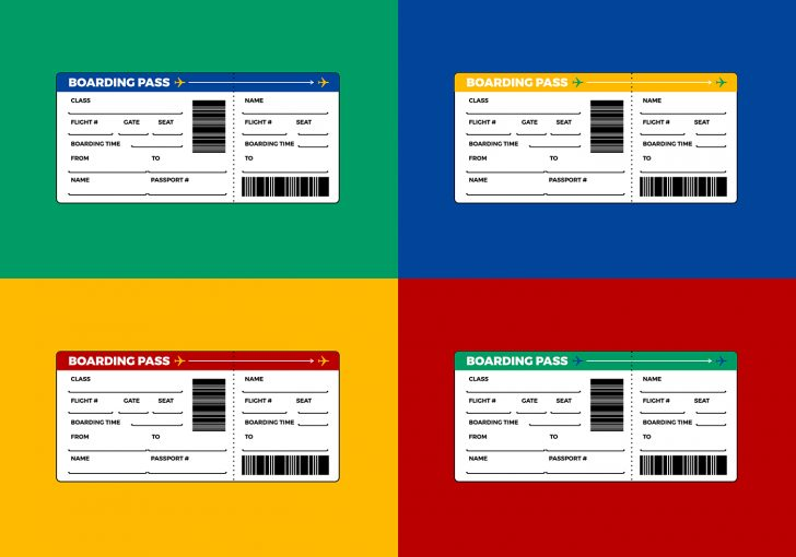Free Printable Boarding Pass