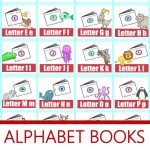 Alphabet! Free Printable Mini Books | Preschool Powol Packets   Free Printable Abc Mini Books