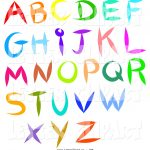 Alphabet Letter Pictures   Free Download Best Alphabet Letter   Free Printable Clip Art Letters