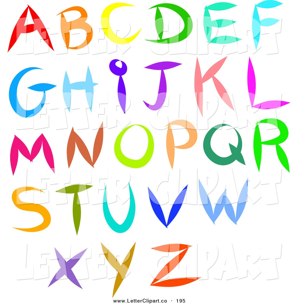Alphabet Letter Pictures   Free Download Best Alphabet Letter - Free Printable Clip Art Letters
