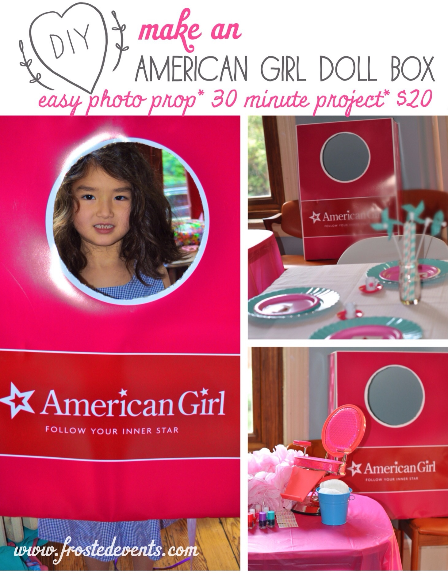 American Girl'-Themed Birthday Party Ideas   Parentmap - American Girl Party Invitations Free Printable