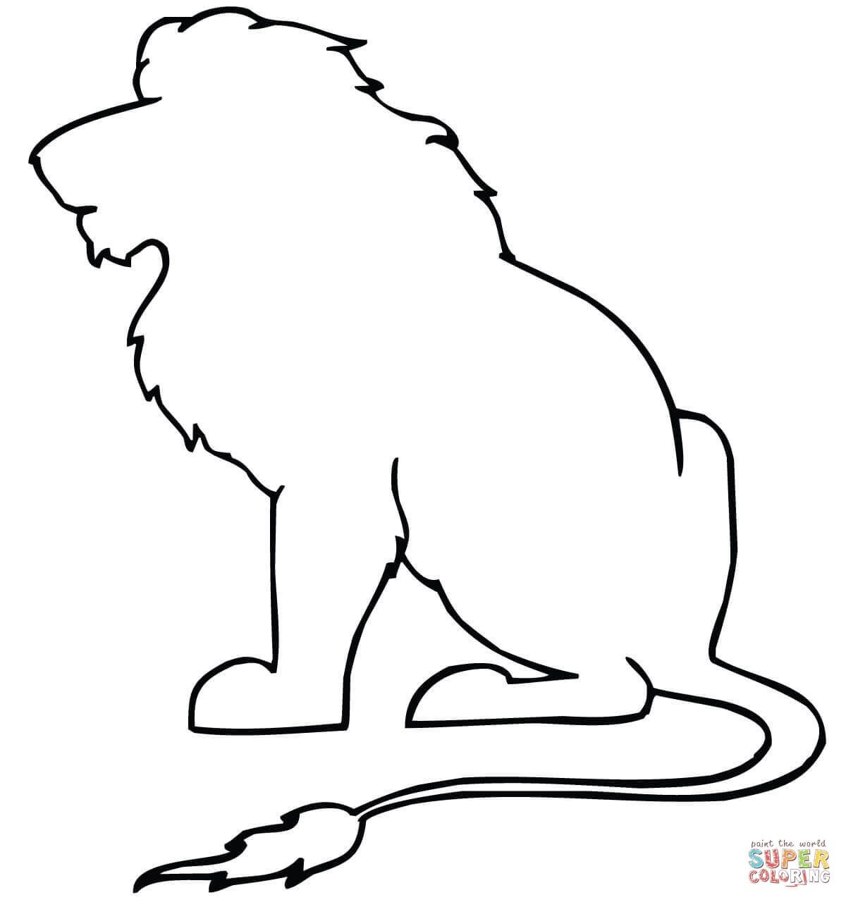 Animal Outlines | Free Download Best Animal Outlines On Clipartmag - Free Printable Arty Animal Outlines