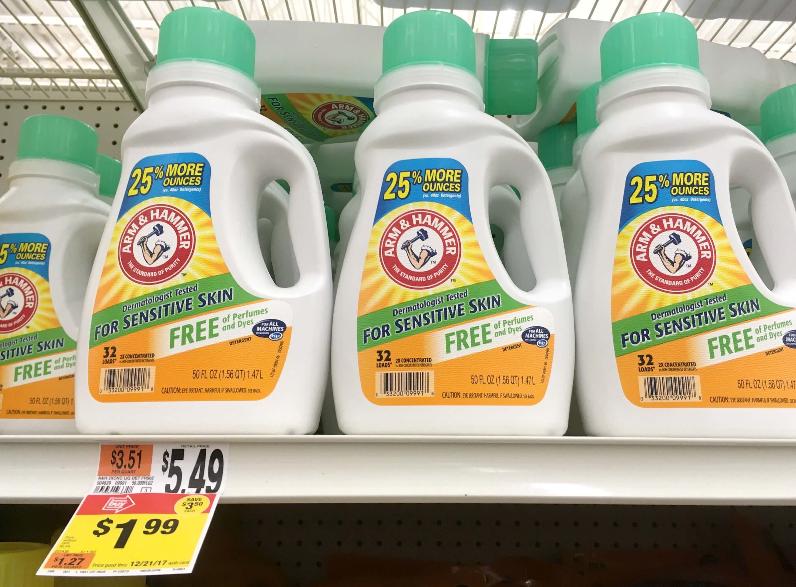 Arm & Hammer Laundry Detergents As Low As $0.54 At Stop & Shop - Free Printable Arm And Hammer Coupons