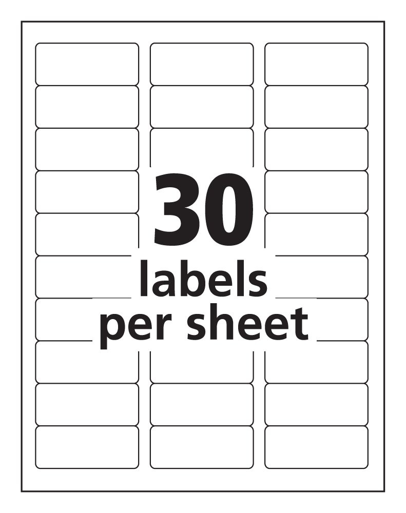 Avery 5630 Template - Kaza.psstech.co - Free Printable Label Templates For Word
