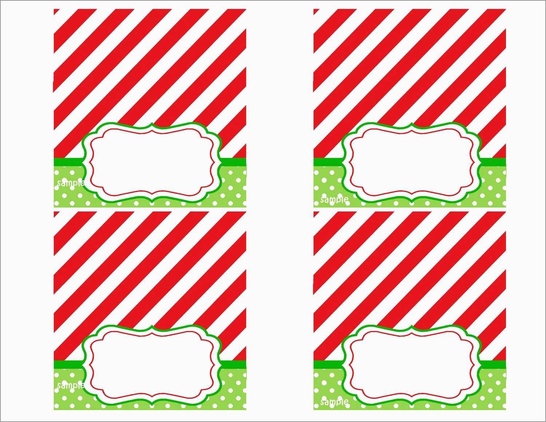 Awesome Free Printable Christmas Table Place Cards Template | Best - Free Printable Christmas Tent Cards