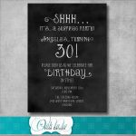 Awesome Surprise Invitation Templates Free | Best Of Template   Free Printable Surprise Party Invitation Templates