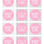 Baby Girl Shower Free Printables | Baby Shower Ideas | Baby Shower - Free Printable Baby Shower Labels And Tags