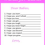Baby Shower Games For Twins   My Practical Baby Shower Guide   Free Printable Baby Shower Games For Twins