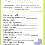 Baby Shower Ice Breaker Games   Free Printable Baby Shower Games For Twins