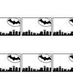 Batman Name Tags Free Printable | Batman | Batman Name, Batman   Superhero Name Tags Free Printable