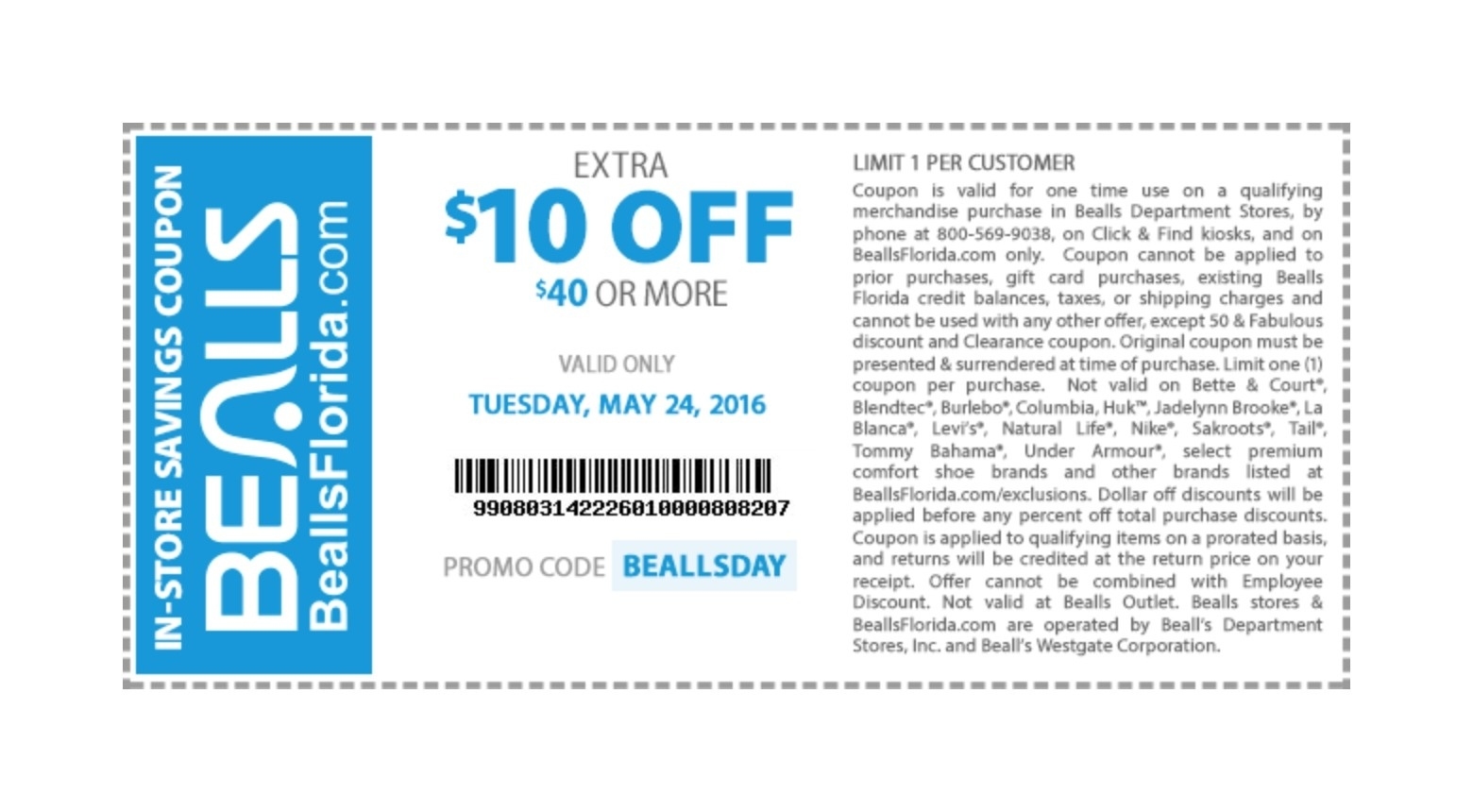 Bealls Coupons May 2018 : Wss Coupons - Free Printable Bealls Florida Coupon