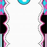 Beautiful Free Monster Invitation Template | Best Of Template   Free Printable Monster Templates