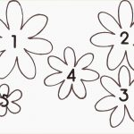 Beautiful Free Printable Flower Stencils | Www.pantry Magic   Free Printable Flower Stencils