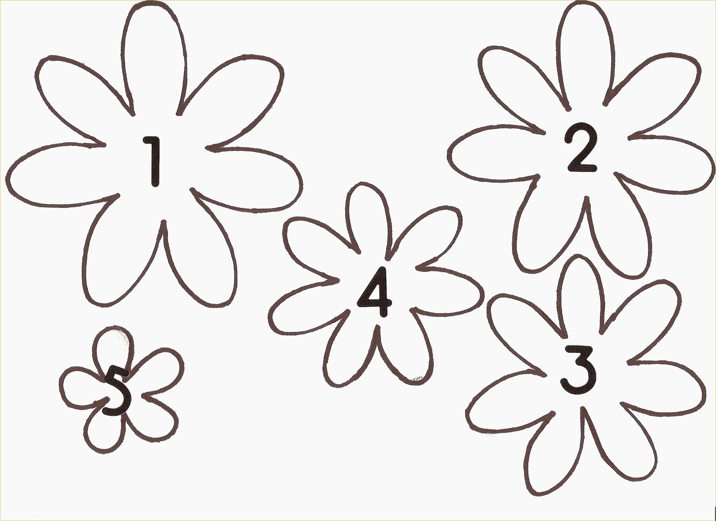 Beautiful Free Printable Flower Stencils | Www.pantry-Magic - Free Printable Flower Stencils