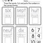 Beginners' French Worksheet   Free Kindergarten Learning Worksheet   Free Printable French Halloween Worksheets