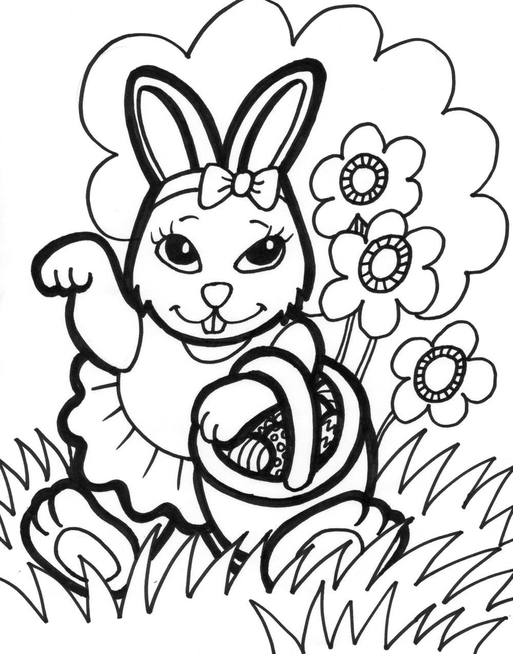 Best 20 Free Easter Coloring Pages To Print - Home Inspiration And - Free Printable Easter Coloring Pages