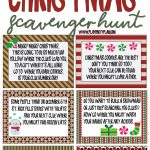 Best Ever Christmas Scavenger Hunt - Play Party Plan - Free Printable Christmas Hidden Picture Games
