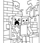Best Minecraft Creeper Coloring Pages   Free, Printable Minecraft   Free Printable Minecraft Activity Pages