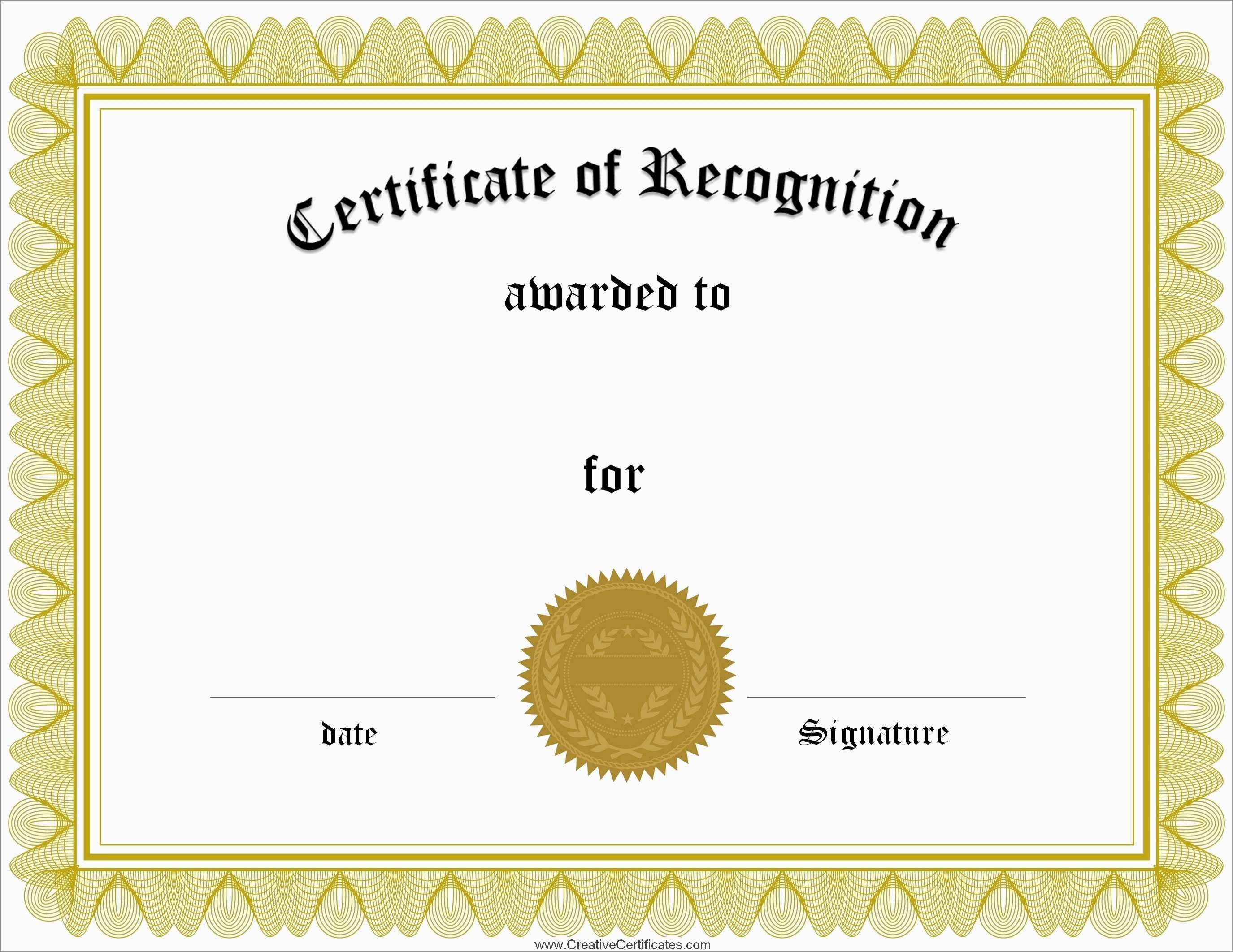 Best Of Free Printable Diploma Template | Best Of Template - Free Printable Blank Certificate Templates