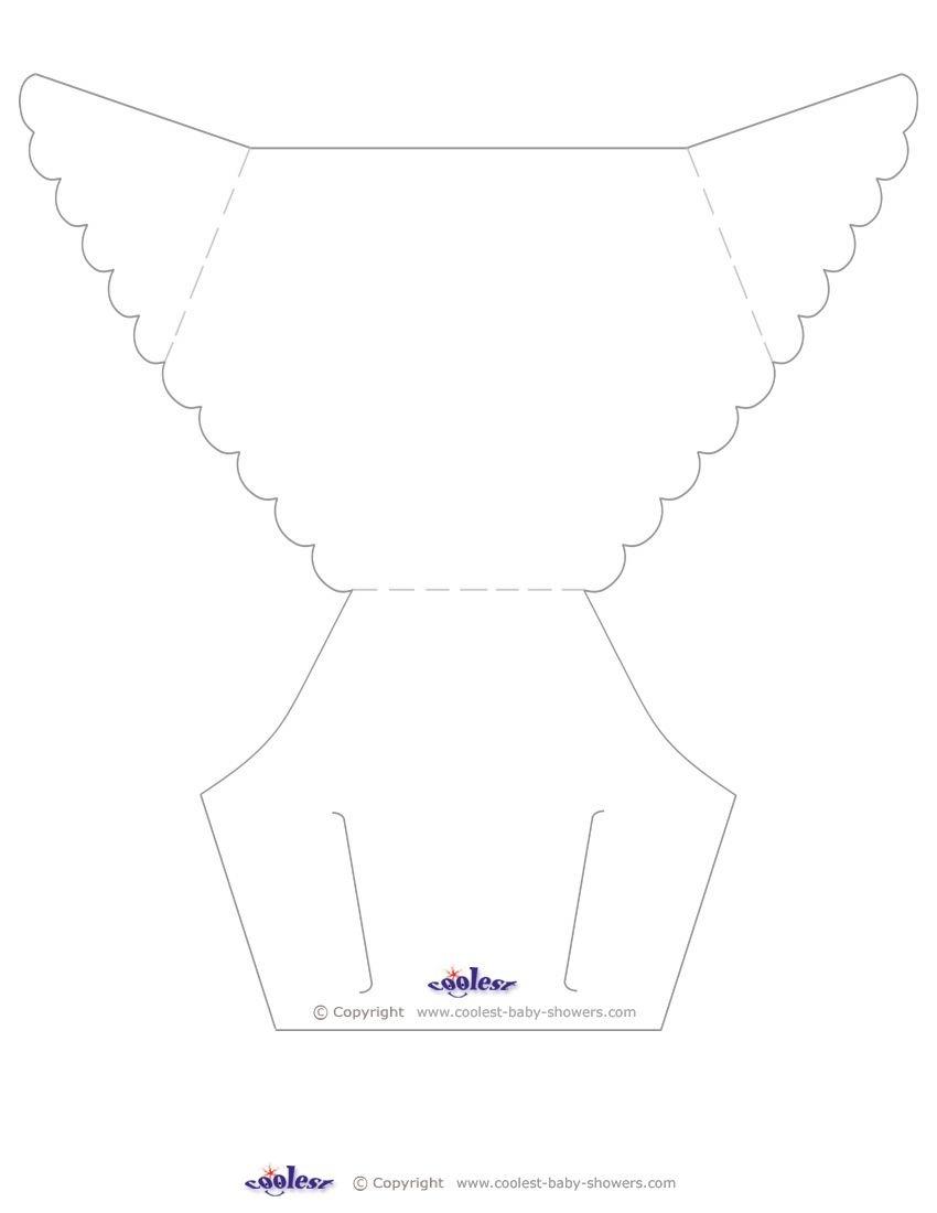 Blank Printable Diaper Invitation Coolest Free Printables | Showers - Free Printable Baby Shower Diaper Invitation Templates