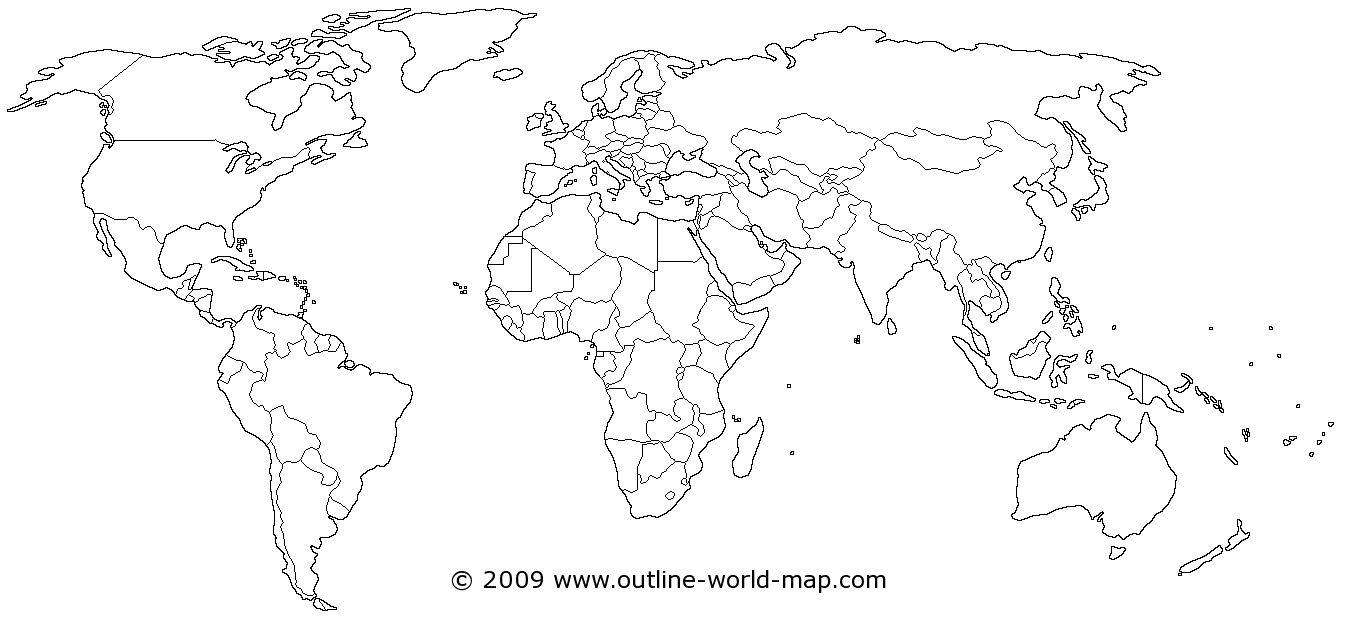 Blank World Map Printable Scrapsofmeme Outline In Pdf Labeled Map - Free Printable World Map Pdf
