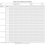 Blank+Medication+Administration+Record+Template | Work | Medication   Medication Chart Printable Free