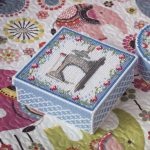 Box Plastic Canvas Patterns Free Tissue Box Cross Stitch | Etsy   Free Printable Plastic Canvas Tissue Box Patterns