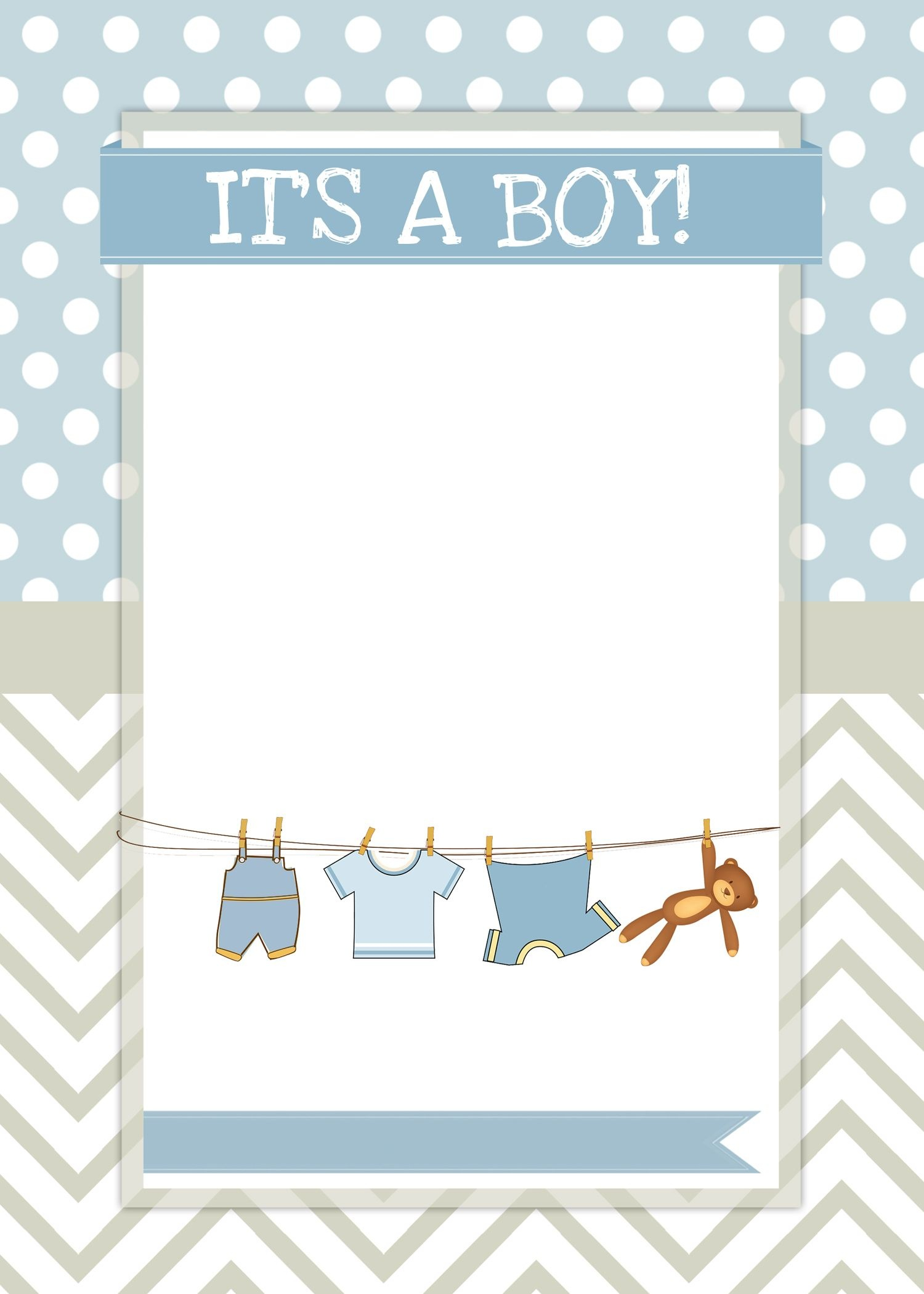 Boy Baby Shower Free Printables | Ideas For The House | Baby Shower - Free Baby Boy Shower Invitations Printable