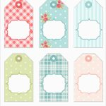 Bridal Shower Favor Tags Template Free Best Tea Party Thank You Tags   Free Printable Baby Shower Gift Tags