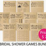 Bride Or Groom Game Bridal Shower Game . Bridal Shower Games | Etsy   How Well Does The Bride Know The Groom Free Printable