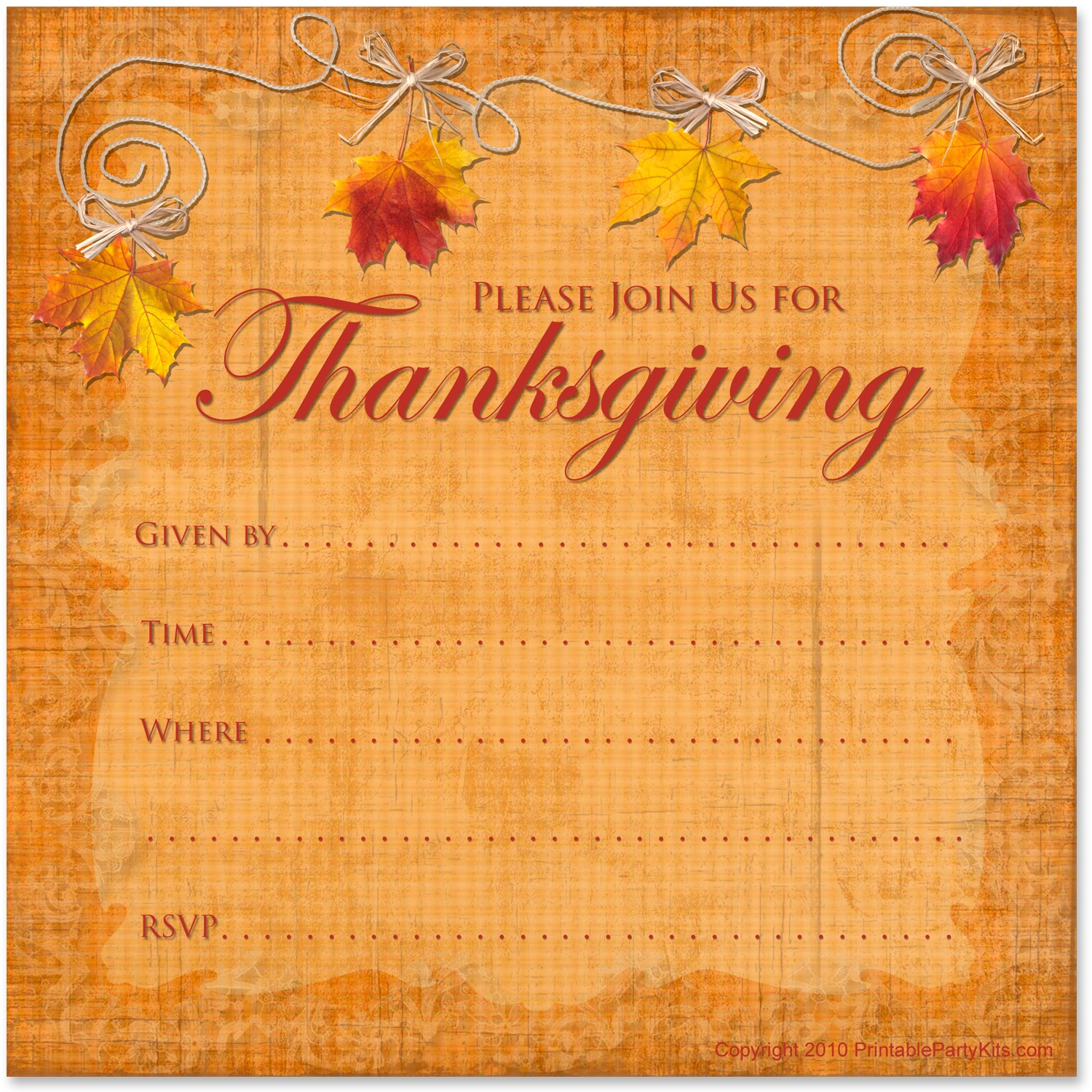 Can't Find Substitution For Tag [Post.body]--> Printable - Free Printable Thanksgiving Invitations