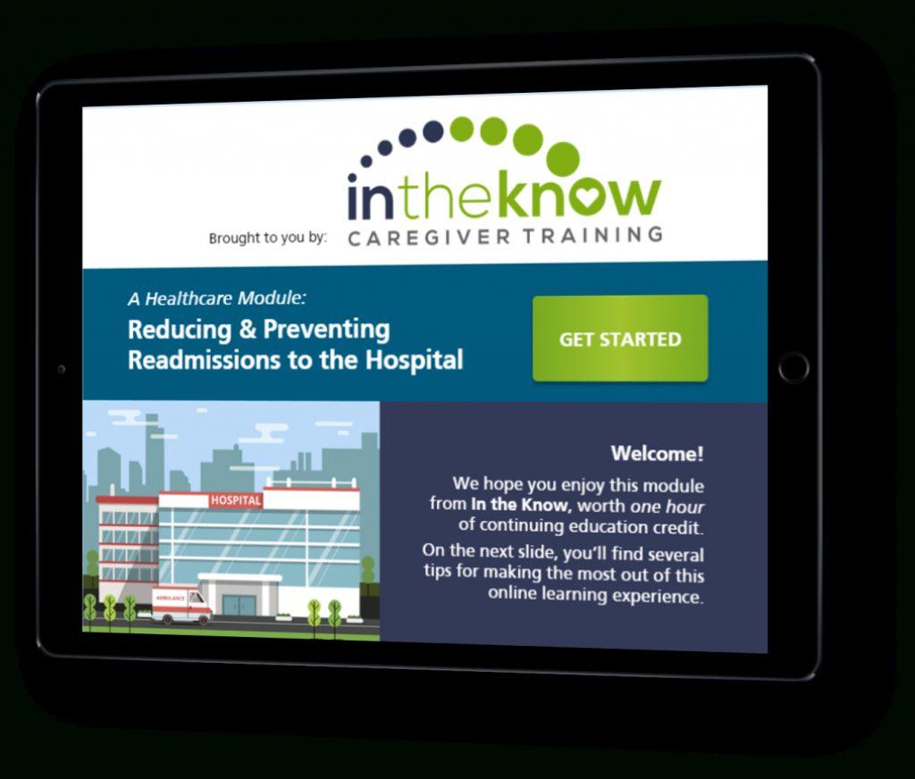 Caregiver Training Solution For Cnas, Hhas, And Nurse ...