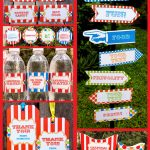 Carnival Party Printables   Circus Party Printables   Free Printable Carnival Decorations