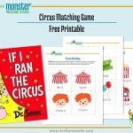 Carnival Week Free Printable | M Is For Monster   Free Printable Toddler Matching Games