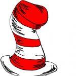 Cat In The Hat Clipart | Dr. Suess | Dr Seuss Hat, Cat Hat, Dr Seuss   Free Printable Cat In The Hat Clip Art