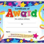 Certificate Template For Kids Free Certificate Templates   Free Printable Honor Roll Certificates Kids