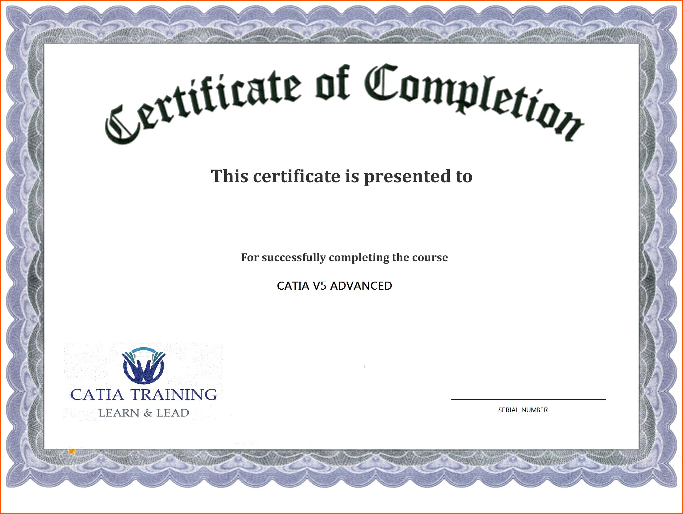Certificate Template Free Printable - Free Download - Free Printable Blank Certificate Templates