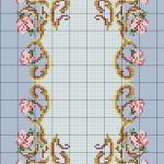 Charted Wool Latch Hook Kits In Floral Designs   Free Printable Latch Hook Patterns
